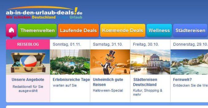 ab in den urlaub deals deutschland