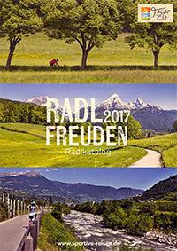Radlfreuden 2017 Reisekatalog