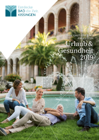 Bad Kissingen Urlaubskatalog 2019